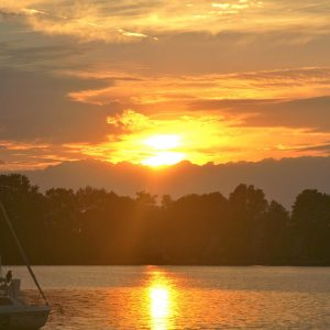 Sonnenaufgang Pälitzsee